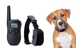 Trainingshalsband hond – trilling en stroom – 300 meter - OHS 17
