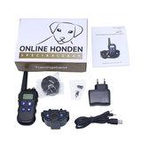 Trainingshalsband OHS910 bereik 600m vibratie, schok, licht, geluid en walkie talkie functie _