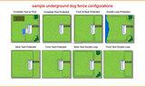 OHS02-16 fence 300m spatwatervast omheining voor de hond. Complete set inclusief 300 meter draad