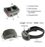 antiblafband - Oplaadbaar -opbouwende stroom correctie-Waterdicht -voor grote en kleine honden