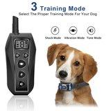 Trainingshalsband OHS 860 bereik 600m vibratie statisch en geluid 2 honden_