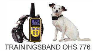 Trainingshalsband voor (middel)grote honden – 800 meter – OHS 776 - voor 3 honden