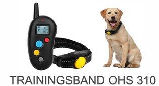 OPLAADBARE trainingsband OHS 310 voor (kleine tot middelgrote) hond 300 m bereik zwemwatervast