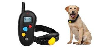 Oplaadbare en waterdichte trainingshalsband voor 2 honden – 300 meter – OHS 310