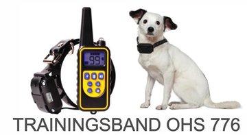 Trainingshalsband voor 3 (middel)grote honden  – 800 meter