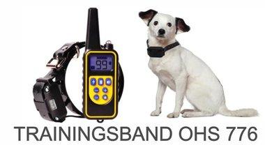 Trainingshalsband OHS 776 voor 3 honden bereik 800 m