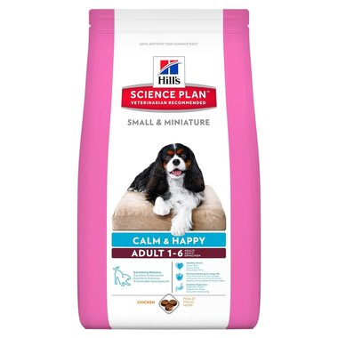 Hill's canine adult small & mini calm&happy 1,5kg hondenvoer