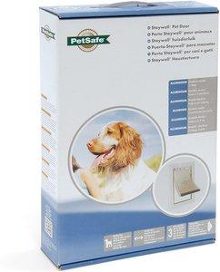 Aluminium honden en kattenluik medium