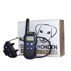 Trainingshalsband OHS910 bereik 600m vibratie, schok, licht, geluid en walkie talkie functie