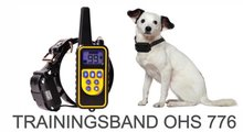 Trainingshalsband type OHS 776 voor 2 honden - 800 mtr
